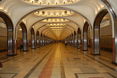 metropolitana Mosca Mayakovskaya