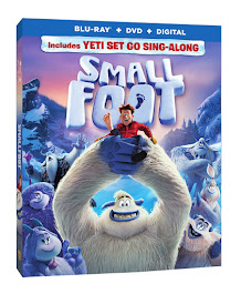 Giveaway: WIN a Smallfoot Blu-Ray DVD Combo Pack ($35.99 Value) Out December 11th
