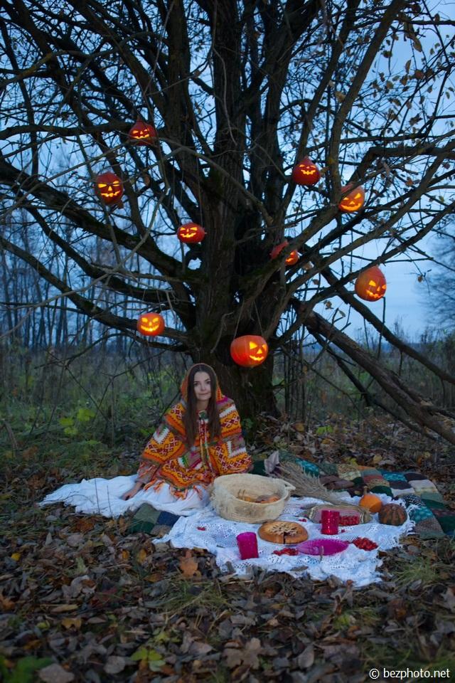 хэллоуин фото девушек