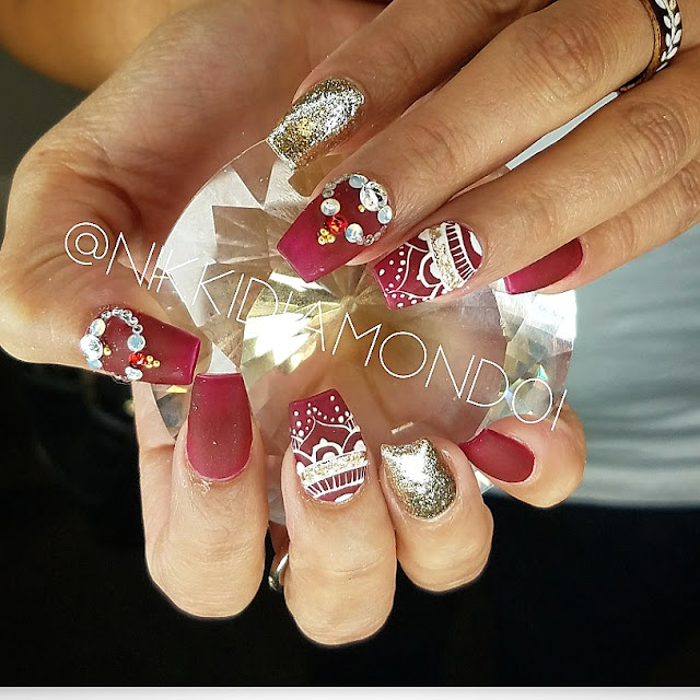 First Look Fridays, Nikki Diamond, nail artist, manicurist, interview, nail art