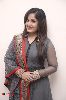 Actress Madhavi Latha Pictures in Salwar Kameez at Tholi Premalo Movie Audio Function  0059.jpg