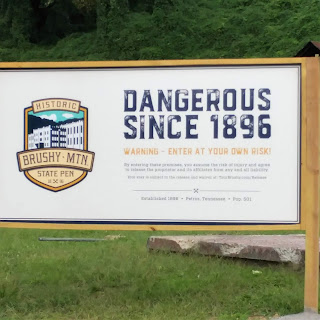 "Sign that reads ""Dangerous since 1896"""