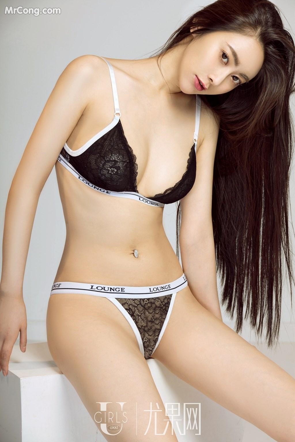 Image UGIRLS-U309-Mu-Fei-Fei-MrCong.com-020 in post UGIRLS U309: Người mẫu Mu Fei Fei (穆菲菲) (64 ảnh)