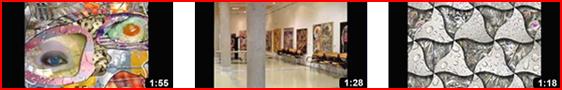 Vídeos del Rivismo. Finalista Florence-Shanghai 2012-2013, Rivismo en la Mancha y Mosaico del Rivismo