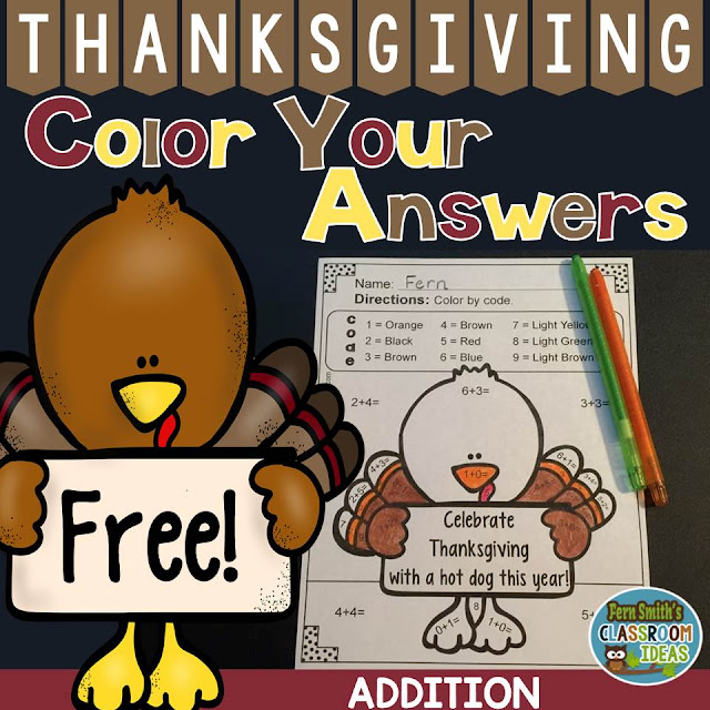 https://www.teacherspayteachers.com/Product/Free-Thanksgiving-2209420
