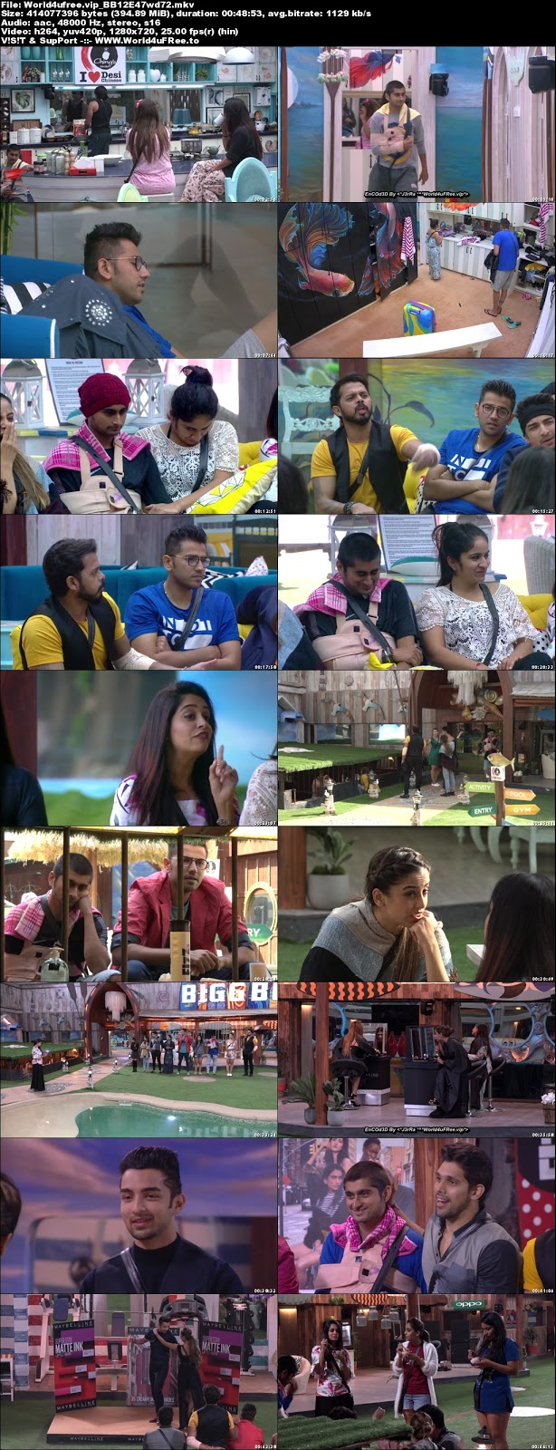 Bigg Boss 12 Episode 47 02 November 2018 720p WEBRip 350Mb x264 world4ufree.fun tv show Episode 47 02 november 2018 world4ufree.fun 300mb 250mb 300mb compressed small size free download or watch online at world4ufree.fun