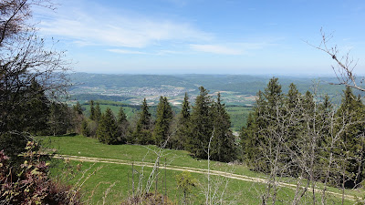 Beim Aussichtsturm des Mont Raimeux