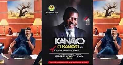 Nollywood Veteran, Kanayo O. Kanayo releases official campaign poster
