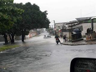 Chuvas alcançam interior da PB e já duram mais de 12h na Grande JP