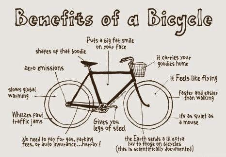 weight loss - benefits of a bicycle