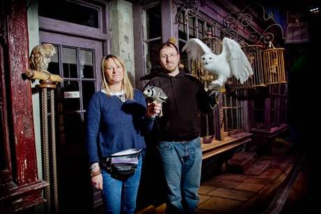 , Feathers and Flight at Warner Brother Studio Tours London The Making of Harry Potter
