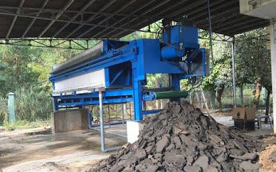 Máy ép bùn khung bản Việt Nam chất lượng cao, giá cạnh tranh nhất