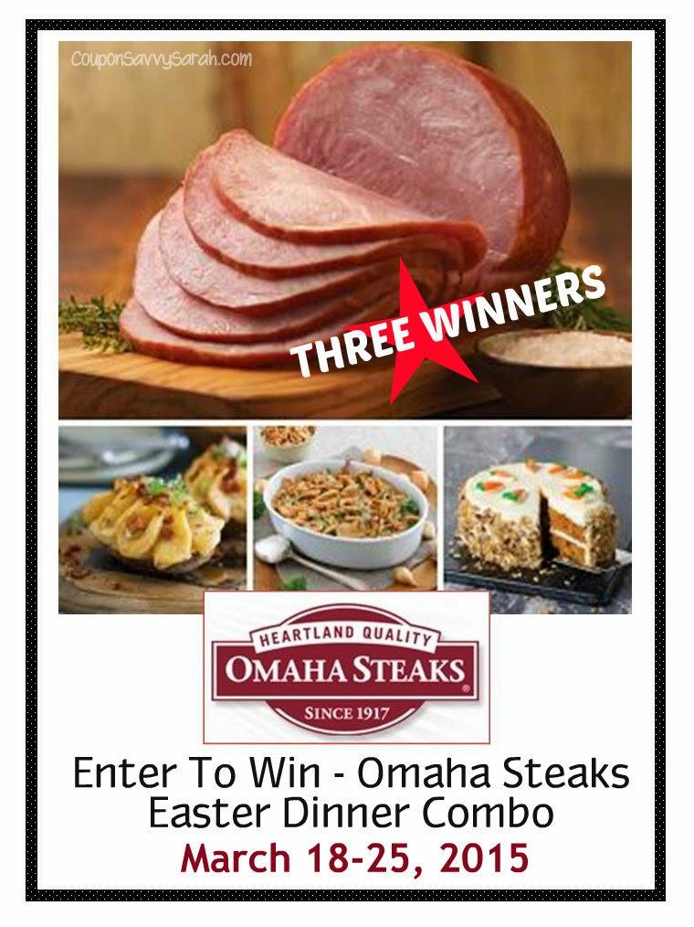 Enter To Win An Easter Combo Dinner From Omaha Steaks