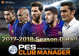 Download PES Club Manager 2018 APK OBB Android Game