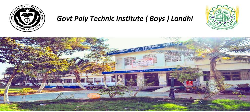 Govt Polytechnic Institute Landhi