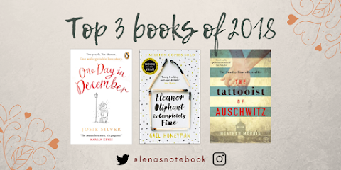 Top 3 Reads of 2018 - a brief rundown!