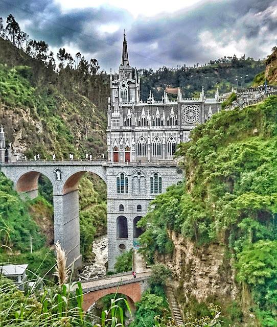 Michi-um-die-Welt Las-Lajas Ipiales Weltreise worldtrip wanderlust