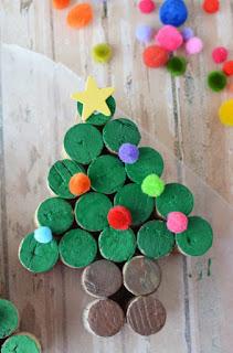 arbolito de navidad manualidad para niños