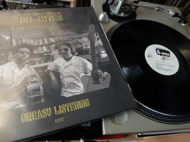 Greasy Listening / The Du-Ritesのレコードの写真です。