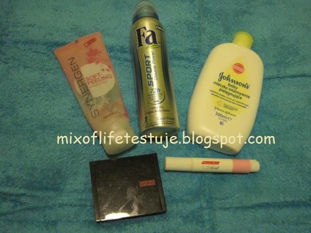 jakie kosmetyki lubię, ulubione kosmetyki we wrześniu 2012