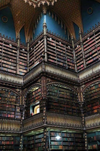 مكتبة البرازيل الوطنية في ريو دي جانيرو National Library Rio de Janeiro