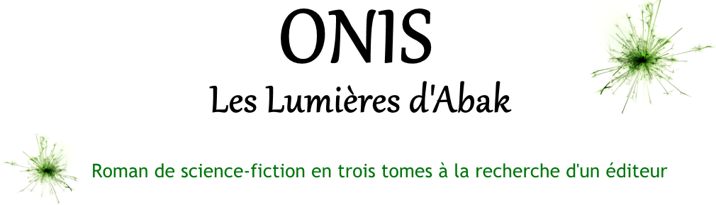 Onis - Roman de science-fiction en trois tomes