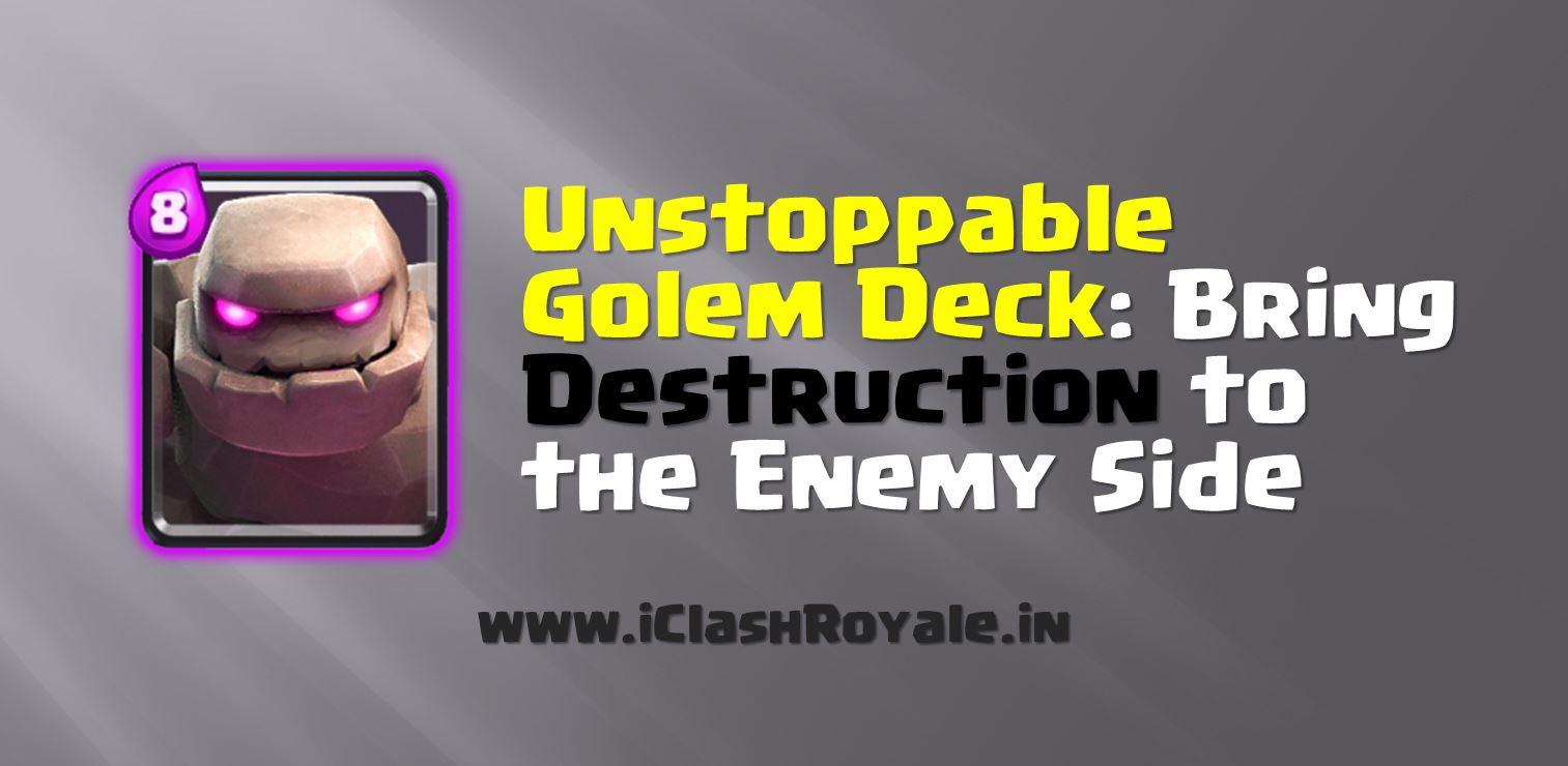 golem battle deck