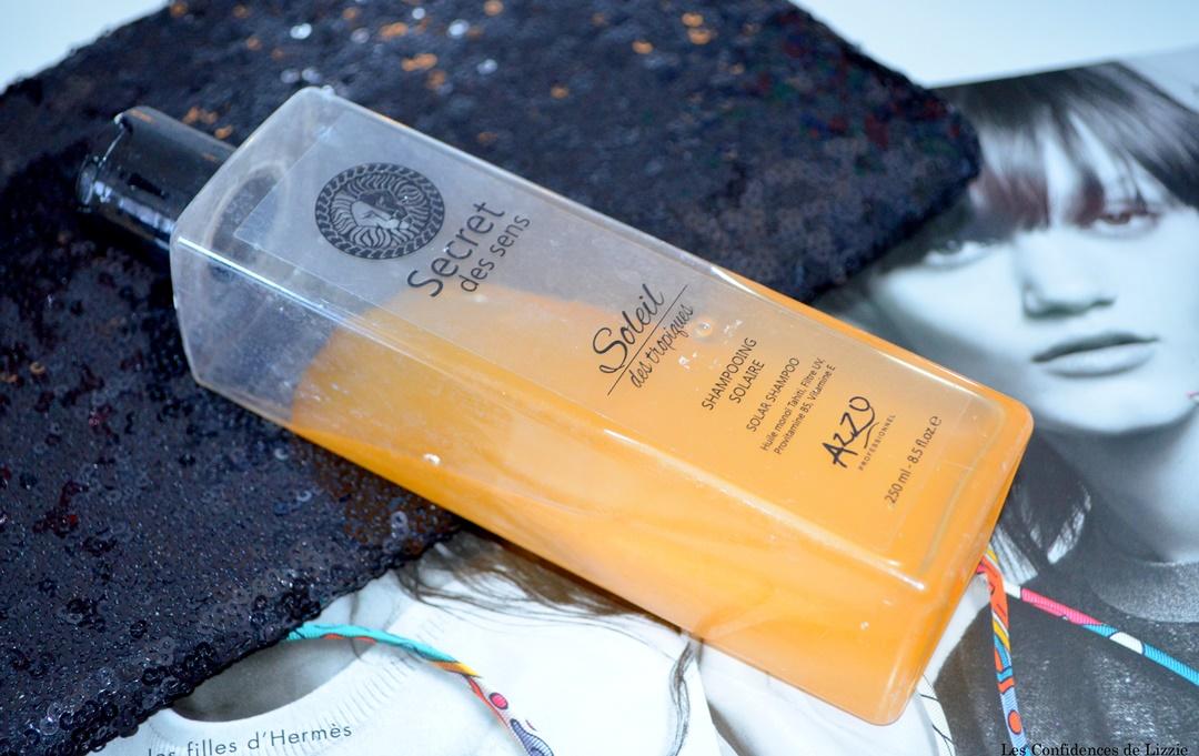 soins capillaires - soins capillaires azzo - azzo profesionnel - shampoing solaire - masque pour les cheveux - huile capillaire