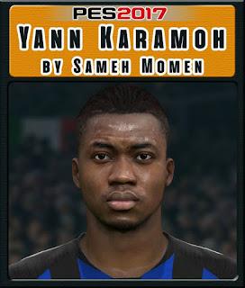 PES 2017 Faces Yann Karamoh by Sameh Momen