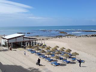 El chiringuito de la playa Santa María del mar
