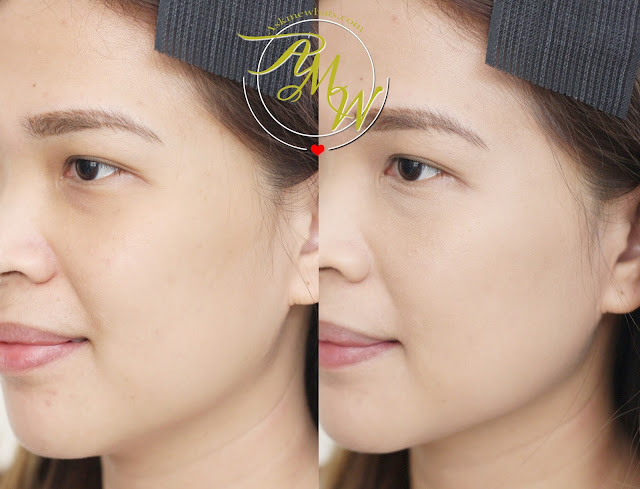 before and after photo of Max FactorX Miracle Touch Skin Smoothing Foundation_askmewhats