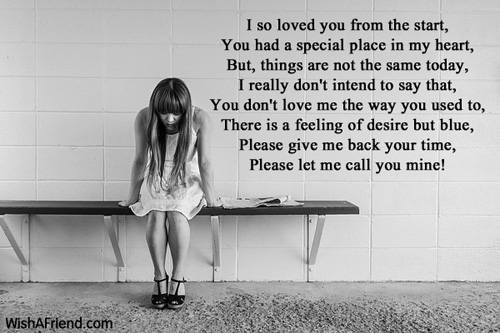 love poems relationship issues for women