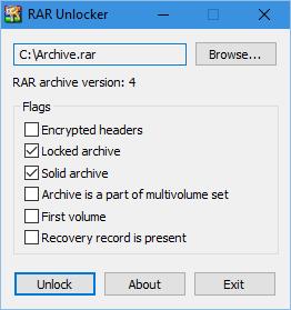 RAR Unlocker Portable