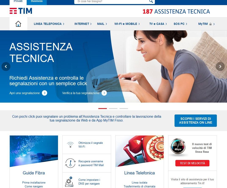 Tim Assistenza Tecnica.Richiedere Assistenza Operatore Tim Wind 3 Vodafone