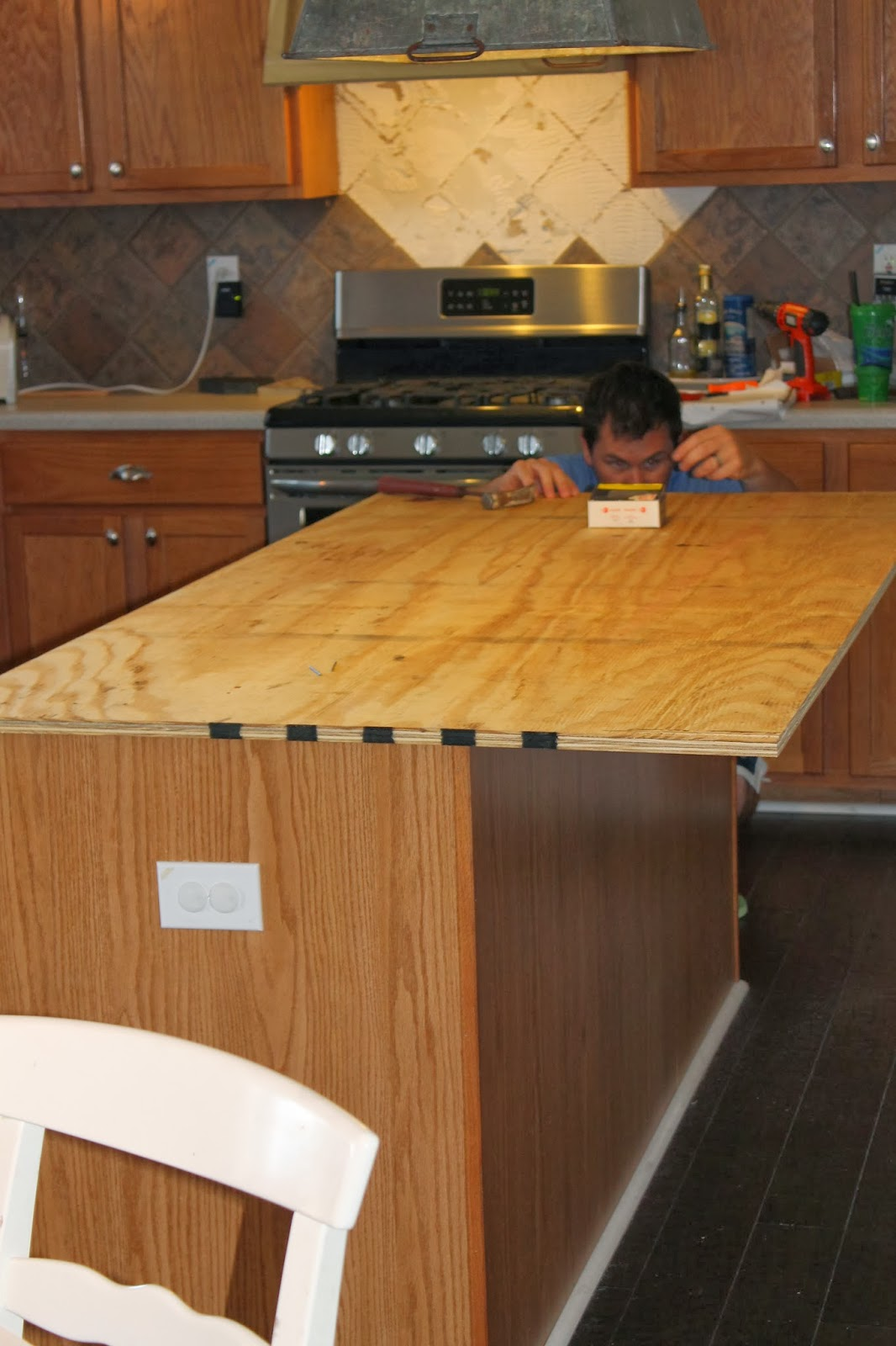 Fake Wood Countertops The Ragged Wren How To Faux Reclaimed Wood Counter Tops