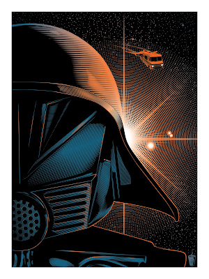 Jeff Boyes Space Balls Print