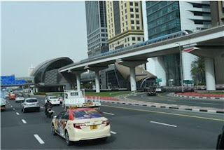 Source: RTA. A taxi on Dubai roads.