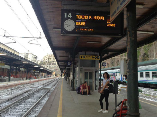Stasiun kerapi Torino