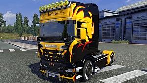 Scania R Nielsen skin mod
