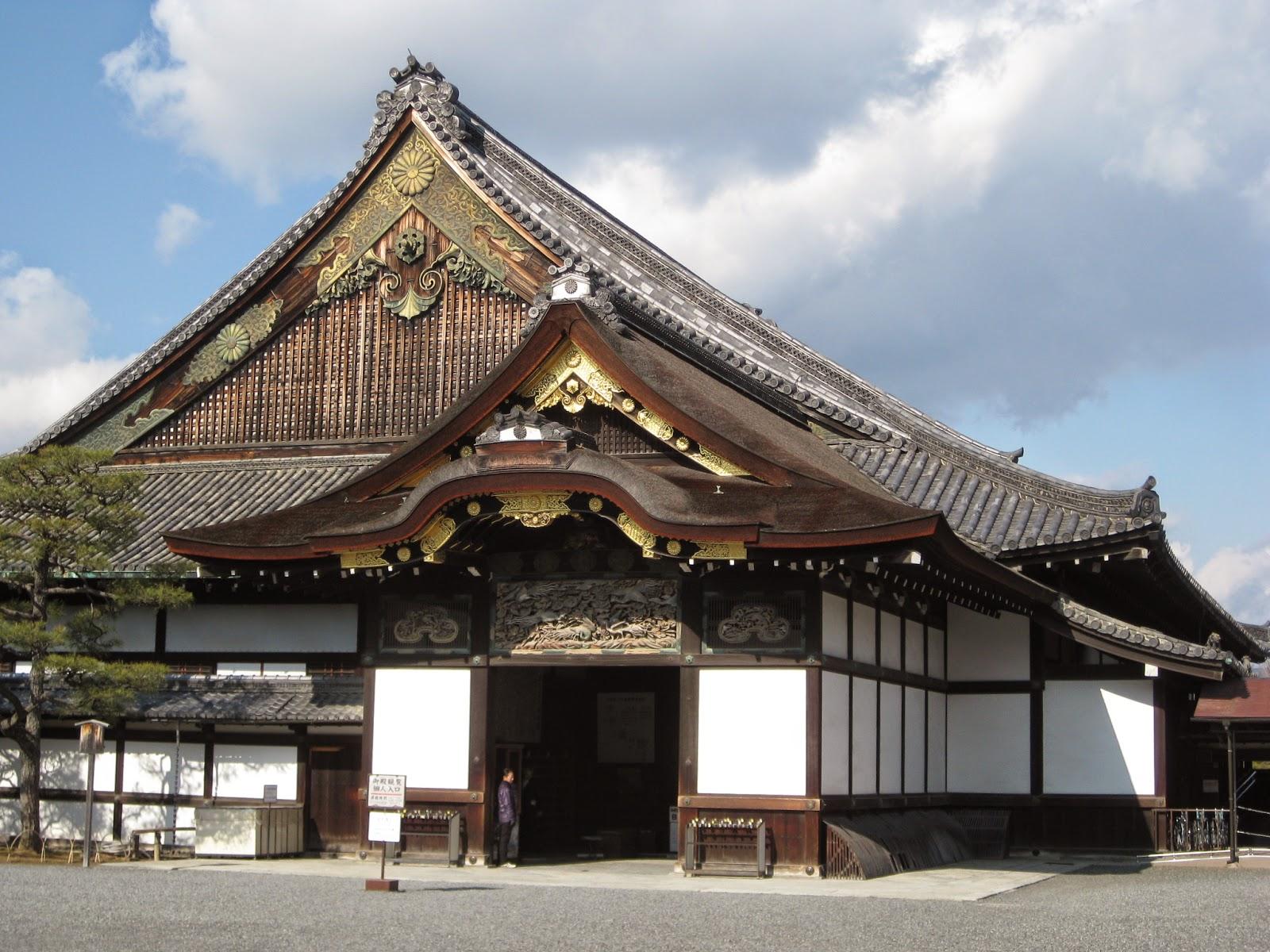 Kyoto - Ninomaru Palace, located inside the Nijo Castle grounds