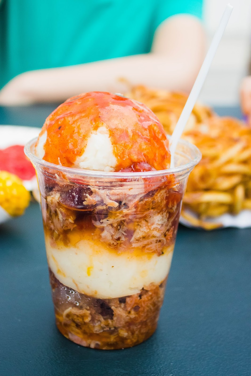 Brisket Sundae, Houston Rodeo Food Favorites | The Bella Insider