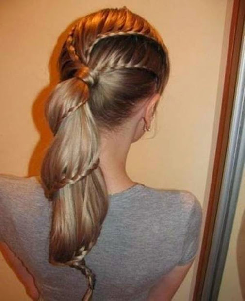 latest hairstyles 2014 braid