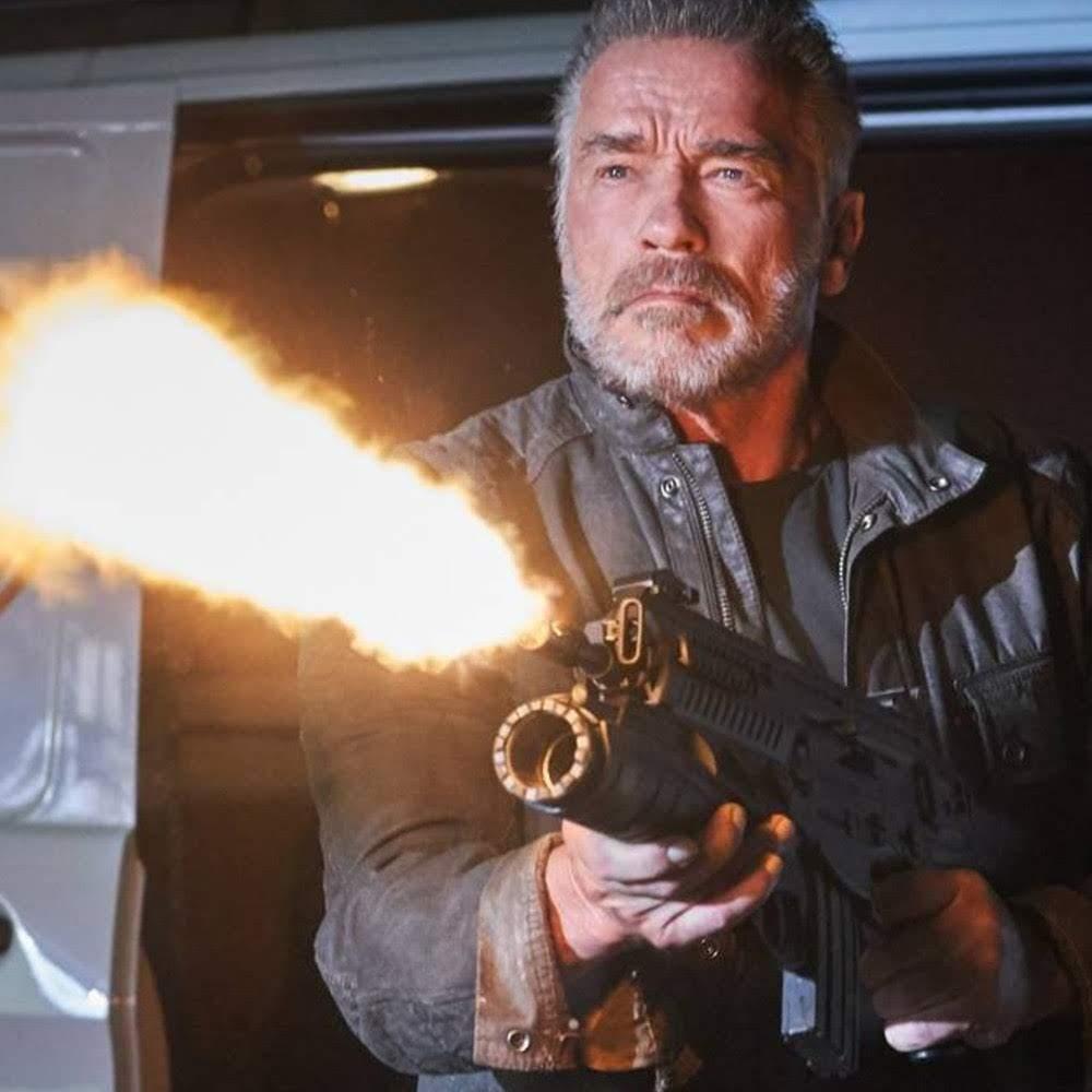 Terminator Dark Fate :「ターミネーター」シリーズ第6作めの「真T3」の最新作「ダーク・フェイト」のアーノルド・シュワルツェネッガーの新しい写真 ! !