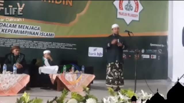 Ustadz Zulkifli M Ali di Mudzakarah Ulama: Ternyata UAS Bukannya Tidak Mau, tapi..