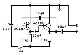 Amateur Radio Audio Signal Injector