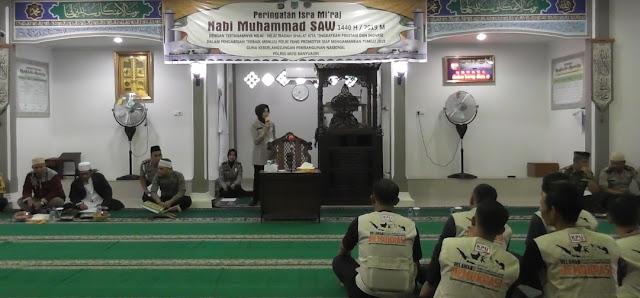 Polres Muba Gelar Peringatan Isra Mi'raj Nabi Muhammad SAW