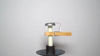 tutorial cara membuat Alat mematikan lilin secara otomatis