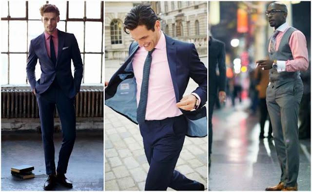 Blog Calitta Roupas Masculinas cor de Rosa Moda Homem