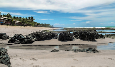 Pantai Pasir Putih Cihara Banten