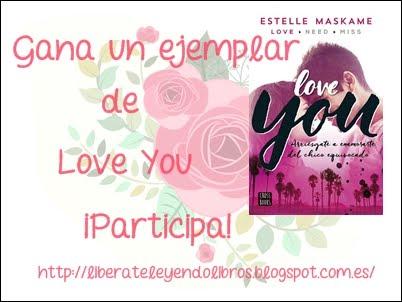 Sorteo: Gana un ejemplar de LOVE YOU